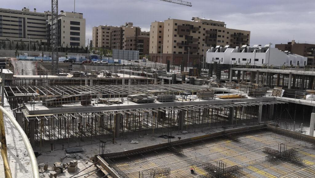 Estado obras Residencial Suertes de la Villa - El cañaveral 3