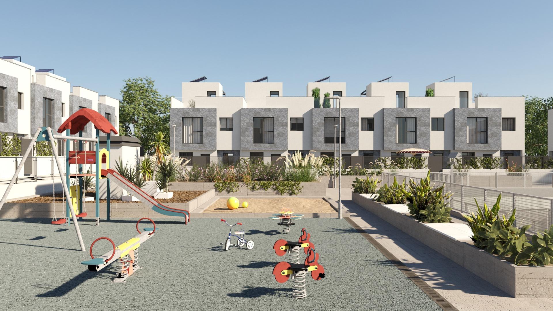 Parque infantil Residencial Suertes de la Villa El Cañaveral