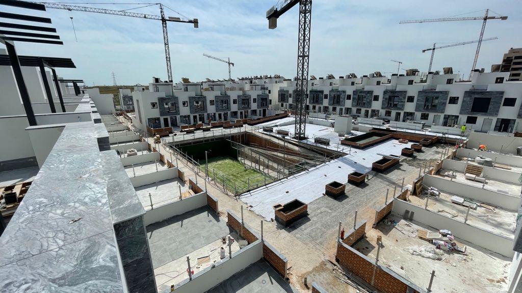 Avance de obras Mayo 2021 Residencial Suertes de la villa